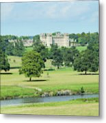 Floors Castle And River Tweed Metal Print