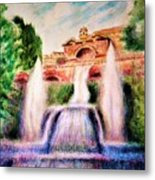 Florence Fountains Metal Print