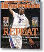Florida Corey Brewer, 2007 Ncaa National Championship Sports Illustrated Cover Metal Print