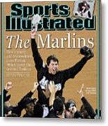 Florida Marlins Josh Beckett, 2003 World Series Sports Illustrated Cover Metal Print