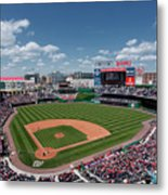 Florida Marlins V Washington Nationals Metal Print