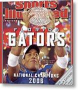 Florida Qb Chris Leak, 2007 Bcs National Championship Game Sports Illustrated Cover Metal Print
