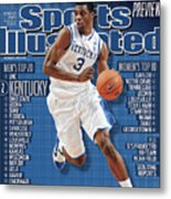 Florida V Kentucky Sports Illustrated Cover Metal Print