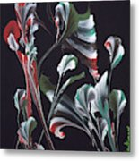 Flower Dance Metal Print