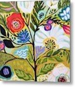 Flower Tree I    Metal Print
