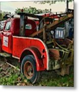Ford F4 Tow The Truck Business End Metal Print