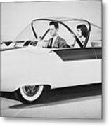 Fords Future Experimental Car Metal Print