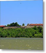 Fort Ticonderoga, From Lake Champlain. Metal Print