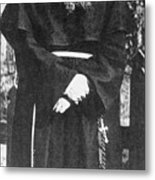 Franciscan Martyr Saint Maximilian Kolbe Metal Print