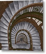 Frank Lloyd Wright - The Rookery Metal Print