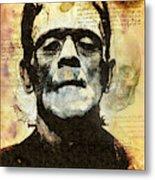 Frankenstein's Notebooks Metal Print