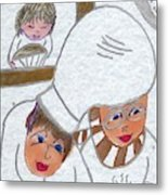 French Chefs Metal Print