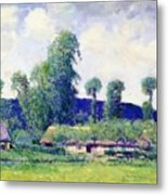 French Farm Metal Print