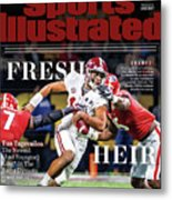 Fresh Heir Tua Tagovailoa, The Newest And Youngest King* In Sports Illustrated Cover Metal Print