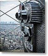 From Observation Deck Metal Print