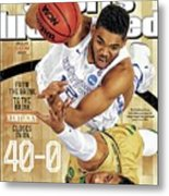 From The Brink. To The Brink. Kentucky Closes In On Sports Illustrated Cover Metal Print