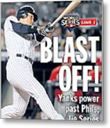 Front Page Of The Daily News From Metal Print