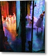 Front Stage, Back Stage Metal Print