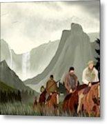 Frontier Trail Metal Print