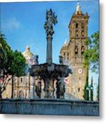 Fuente De Puebla Metal Print