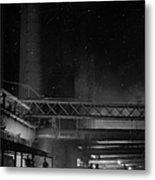 Furnaces By Night Metal Print