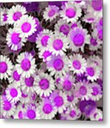 Fuscia Girls Metal Print