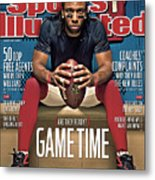 Gametime Are They Ready Sports Illustrated Cover Metal Print