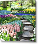 Garden Flowers  53 Xxxl Metal Print