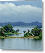 Gatun Lake Islands Metal Print