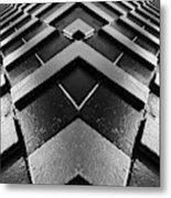 Geometric Night  Metal Print
