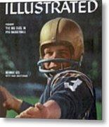 George Izo Notre Dame Quarterback Sports Illustrated Cover Metal Print