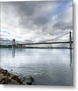 George Washington Bridge, New York Metal Print