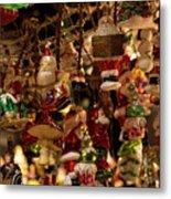 German Christmas Ornaments Metal Print
