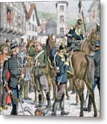 German Deserters At The French Metal Print