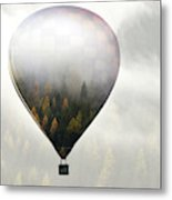 Get Lost In The World Metal Print