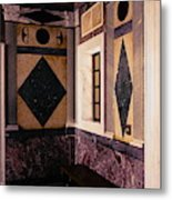 Getty Villa Interior  Metal Print
