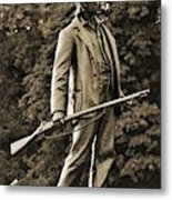 Gettysburg Battlefield - John Burns Metal Print