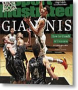 Giannis How To Coach A Unicorn Sports Illustrated Cover Metal Print