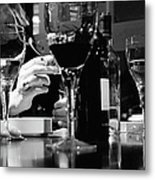 Glasses Of Wine Metal Print
