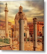 Glories Past And Present,  Rome Metal Print