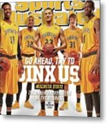 Go Ahead, Try To Jinx Us. Wichita State The Unbeaten Sports Illustrated Cover Metal Print