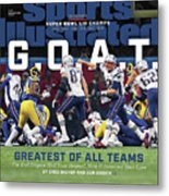 G.o.a.t Greatest Of All Teams Sports Illustrated Cover Metal Print