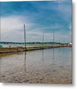 Goat Island Shore Gorgeous Happy Day Metal Print