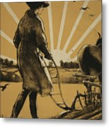 God Speed The Plough And The Woman Who Drives It Metal Print