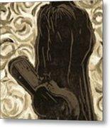 Gogh Johnny Go Metal Print