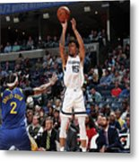Golden State Warriors V Memphis Metal Print