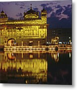 Golden Temple Harmandir Sahib On Metal Print