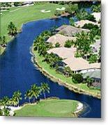 Golf Course Community Metal Print