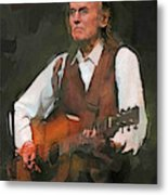 Gordon Lightfoot Metal Print