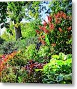 Gorgeous Gardens At Cornell University - Ithaca, New York Metal Print